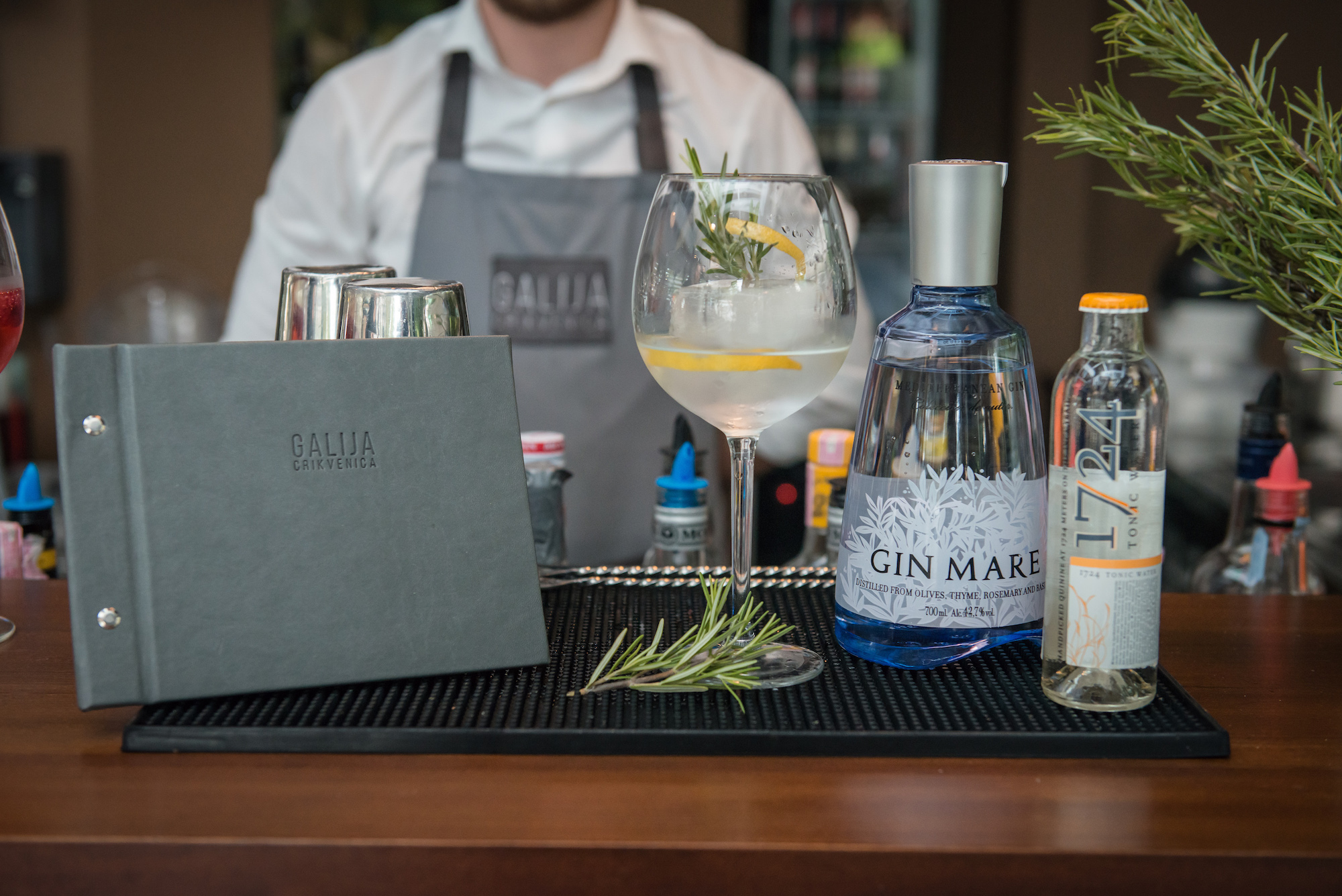 Gin Mare, Tonic 1724